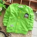 Осень весна дети дети новорожденных девочек мальчиков младенец мультфильм куртки кардиган верхней одежды пальто S1296