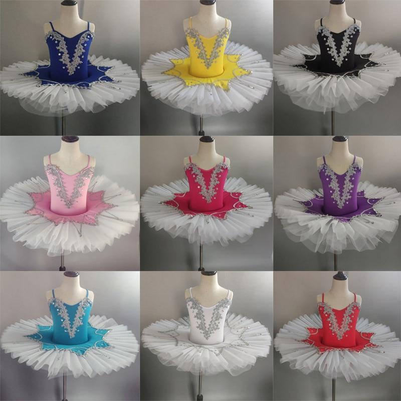 Adult Women Cotton Ballet Tutu Dress Lake Professional Dancewear Skirt Leotard