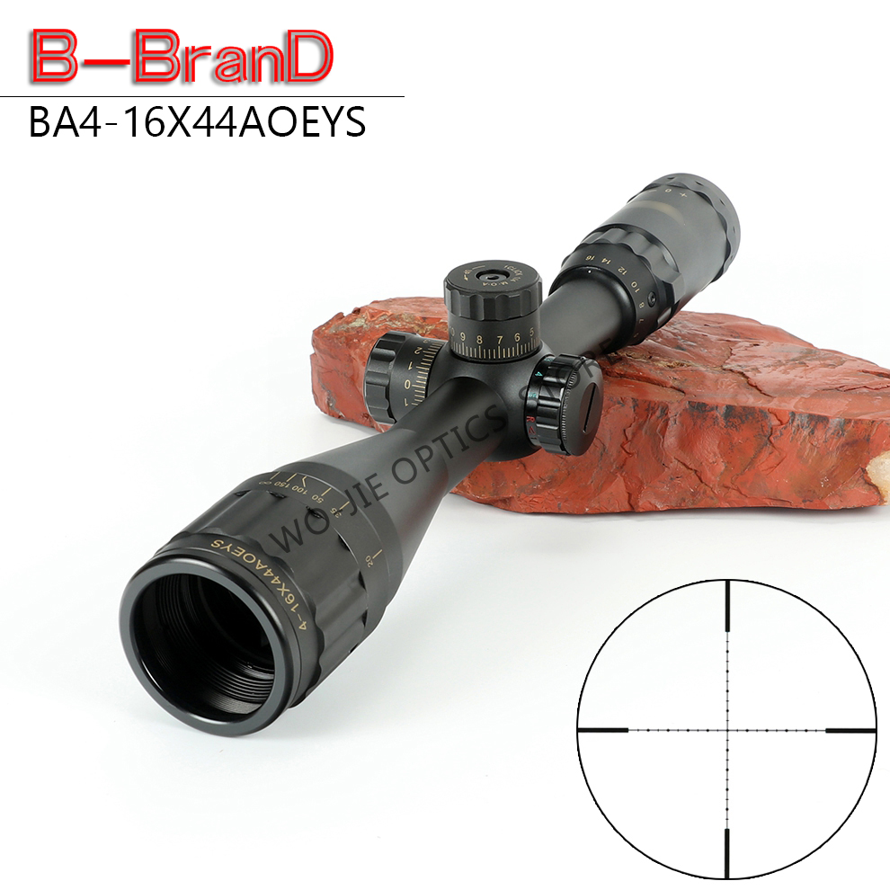 BSA 4-16X44 AOEYS Tactical Riflescope Sniper Optic Sight Hunting Scopes Rifle Air Red Dot Airsoft Rifle Accessories Rifle Scope