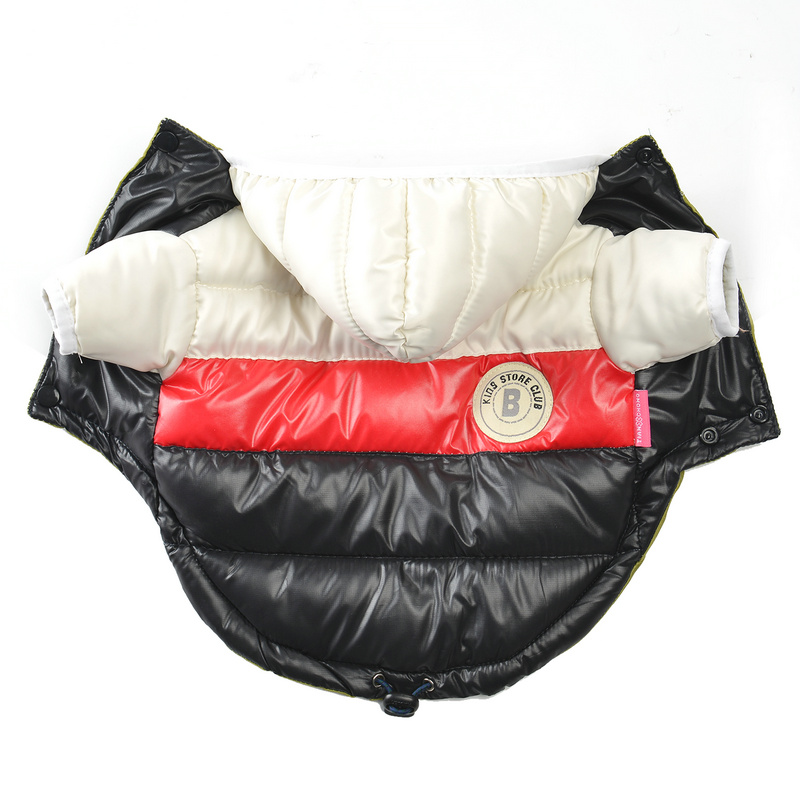 Waterproof and Hooded Dog Jacket with Leash Hole Ideal for Autumn/Winter Season 15
