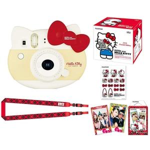 Image 2 - Fujifilm Instax Mini 8 Hallo Kitty Limited Edition Instant Foto Film Kamera + 10 Blatt Kitty Filme + Aufkleber + riemen box Set