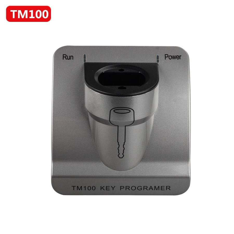 TM100 Transponder Key Programmer V7.14 with Basic Module Update Online Free Lifetime oem tango key programmer with all software tango transponder programmer oem tango v1 11 support update