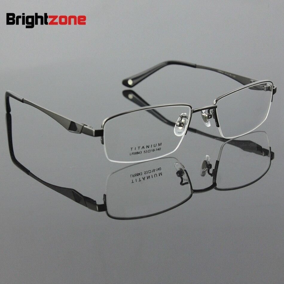 2017 Nova Chegada 100% Homens de Titânio Puro Óculos de Miopia Óculos Óculos  de Prescrição 762df152e2