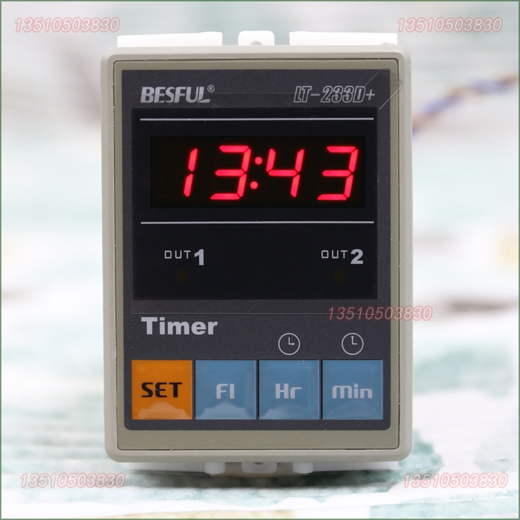 цена на Bi River BESFUL microcomputer time controlled switch two timer LT-233D+ two time controller