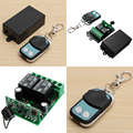 New 2 Channel Wireless Remote Control Switch Transmitter Receiver High Quality Transceiver Receivers DC 12V
