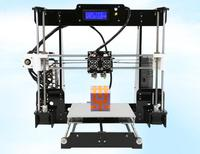 Новый двойной сопла 3d принтер A8-M двойной цвет высокая точность стерео дома рабочего промышленного класса DIY kit