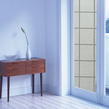 SUNICE  static cling glass film window frosted glass stickers stereo effect impervious bedroom balcony glass film BZ122-001