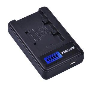 Image 4 - 2 paket 2500mAh NP FV70 NP FV70 NPFV70 piller ve LCD USB şarj aleti Sony NP FV50 FV30 HDR CX230 HDR CX150E HDR CX170 CX300 z1