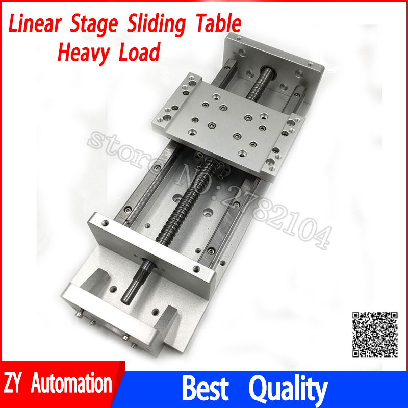 Heavy Load X Y Z Axis Sliding Table Cross Slide SFU1605 Ballscrew Linear Stage Motion Actuator