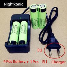 ФОТО   UltraPanic 18650 battery  37V Li-ion Rechargeable Battery Flashlight battery