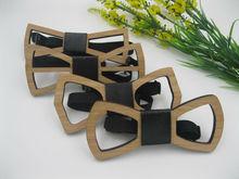 Мужские аксессуары 2016 Geometric Design Wooden