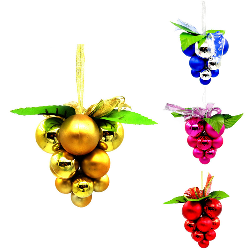Smooth Grape Strings Christmas Day Party Decoration Ornaments Party Gifts Gadgets
