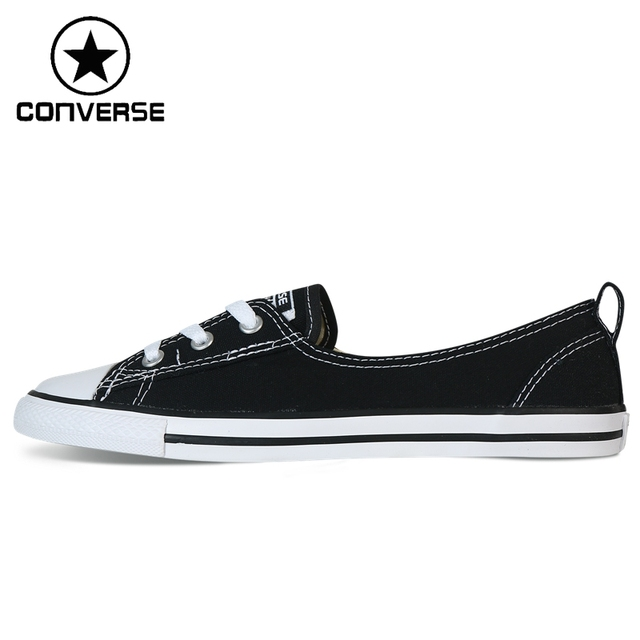 dd9ed873e8911c Original New Arrival 2018 Converse Ballet Lace Women s Skateboarding Shoes  Canvas Sneakers-in Skateboarding from Sports   Entertainment on  Aliexpress.com ...