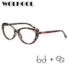 f2c32ea55 Retro Oval Olho de Gato Óculos de Armação Vidros Ópticos Mulheres Óculos de  Prescrição Óculos Frames Oculos de grau Korekcyjne O..