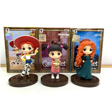 Qposket Toy Story 4 Jessie toys movie Disney PIXAR BRAVE MONSTERS characters action figure kids birthday gifts model set 7-8CM
