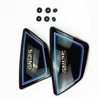 1Pair High Quality Original Frame Side Covers Panels For Suzuki GN 125 GN125 Black SUZUKI GN125