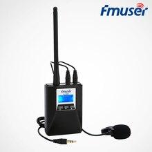 FMUSER FU-T300, 0,2 Вт, fm-радио передатчик, набор, портативный передатчик с низкой мощностью, fm-передатчик для туризма, светильник, шоу, встречи