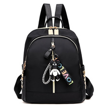Oxford Cloth Shoulder Bag Korean Version Female Backpack Back to School Leisure Teenage Boy Girl Packbag Bookbag