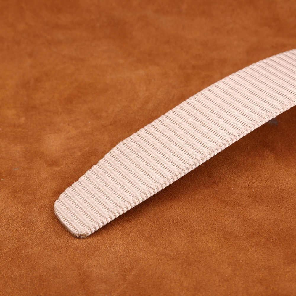 [MILUOTA] 2018 мужской ремень из парусины металлический пояс тактика тканый ремень холст ремень повседневные брюки крутой Дикий подарок для мужчин ремни MU071
