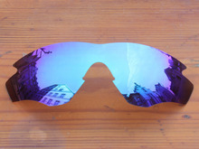 Ice Blue Mirror Polarized Replacement Lenses For M2 Frame Sunglasses Frame 100% UVA & UVB Protection