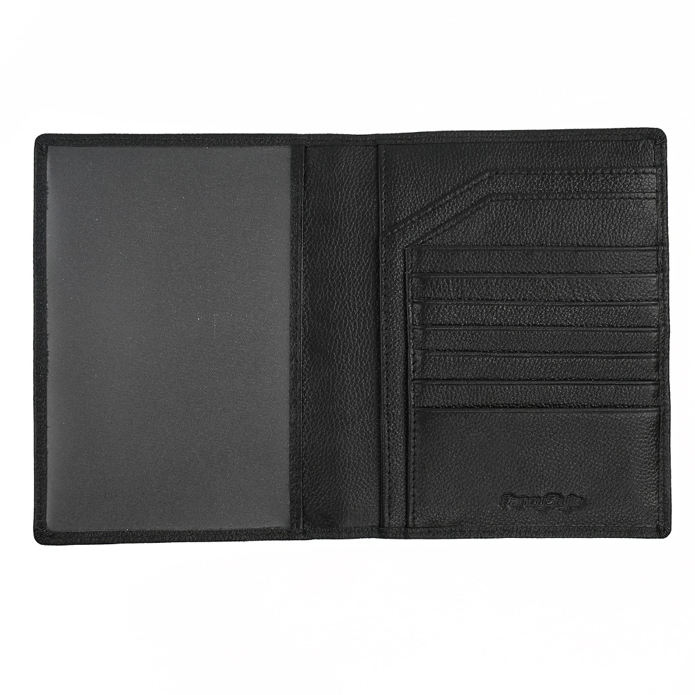 ФОТО Fancystyle Stylish Mens Passport Wallet Leather Rfid Cover Clutch for Travel 1pc Free Shipping