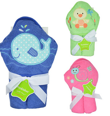 Baby Hooded Towel Bath towel for kids GD-193