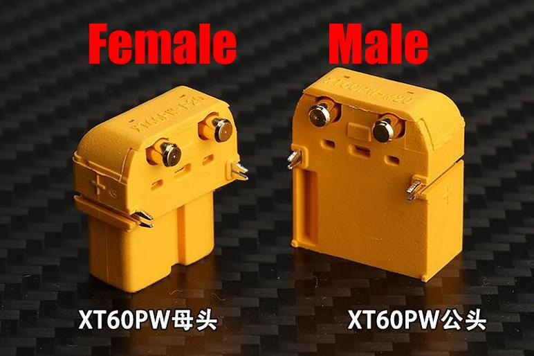 Free Shipping Amass XT60PW Plug Connector XT60 Upgrade Male