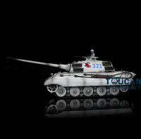 AU Stock HengLong 3888A 1/16 King Tiger Henschel RC Tank Upgraded Metal Tracks TH00093