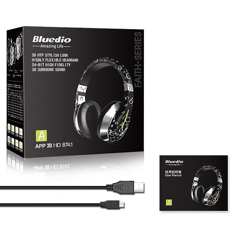 Bluedio Air series A/A2 Bluetooth Headphone 5
