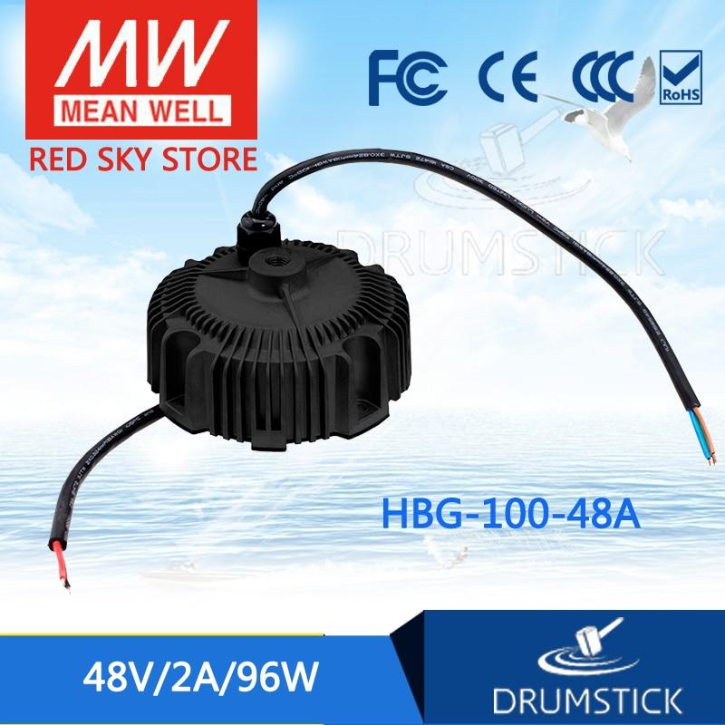 prosperity MEAN WELL HBG-100-48A 48V 2A meanwell HBG-100 48V 96W Single Output LED Driver Power Supply