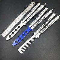 Swayboo المقاوم للصدأ فراشة سكين للطي سكين سكين التنين فراشة balisong تدريب مدرب outdoor الرياضة أداة
