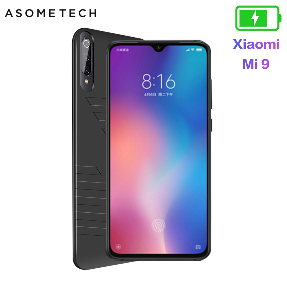 Image 1 - 6800mAh Battery Case For Xiaomi Mi 9 Power Bank Battery Charger Case For Xiaomi 9 Thin Charging Cover Powerbank Case For Mi 9-in Battery Charger Cases from Cellphones & Telecommunications