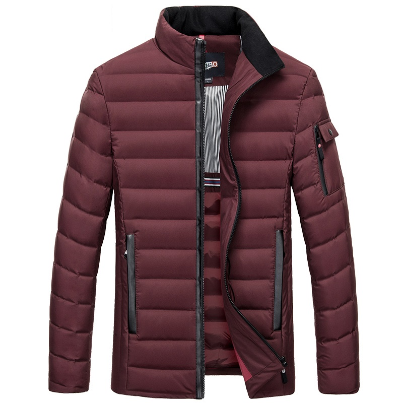 Men's White Duck Down Jacket Slim Light Down Coat Ultra Thin Feather Clothing Selected For Men 6620 New
