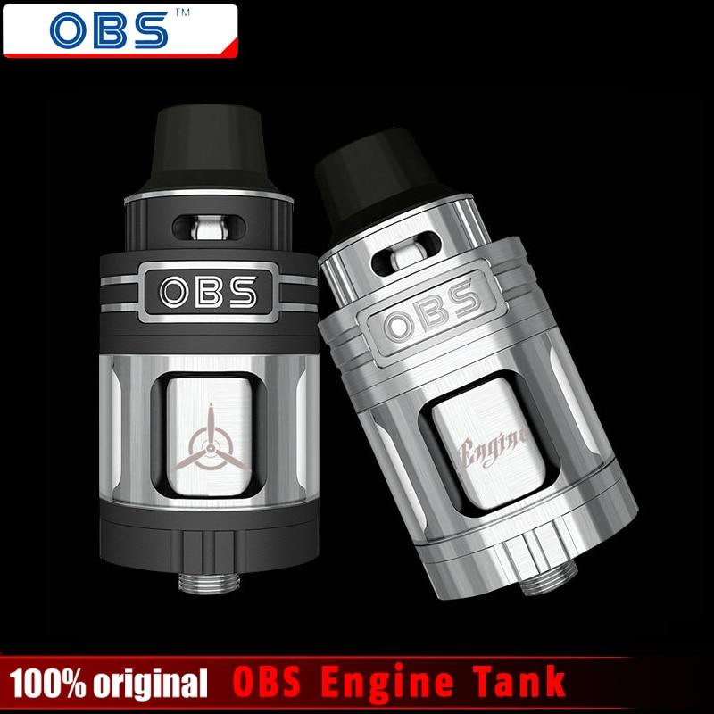 Original OBS Motor RTA RBA Tank 5,2 ml Top Füll-und Luftstromsteuerung Wiederaufbau Deck OBS Motor Zerstäuber E-zigaretten