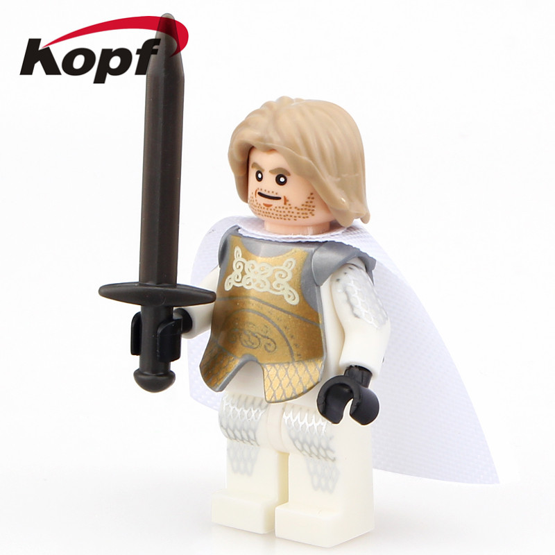 Toys & Hobbies Aggressive Super Heroes Game Of Thrones White Walker Jaime Lannister Ice And Fire Series Building Blocks Children Toys Christmas Gift Pg942