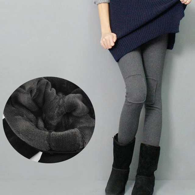 Fall and winter maternity pregnant women plus thick velvet leggings pregnant women care belly pants patch pants