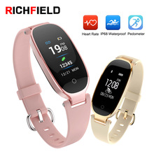 Smart Watch Women Sport Smart Band Bluetooth Waterproof Heart Rate Sleep Monitor Fitness Tracker Smart Bracelet For Android IOS symrun smart watch heart rate monitor sleep tracker hands free calls for ios and android smart phones with speaker smart watch