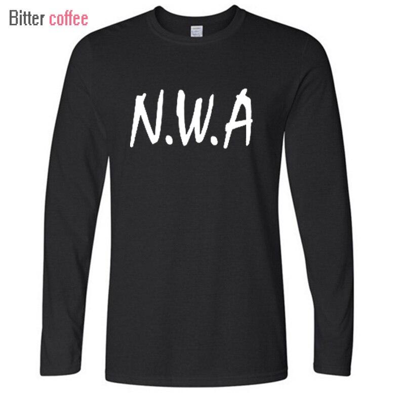 N.W.A. Men T-shirt Straight Outta Compton Movie Ice Cube Dr Dre Eazy E DJ Yella MC Ren Tee Rock Band Hip Hop T Shirt XS-XXL ...
