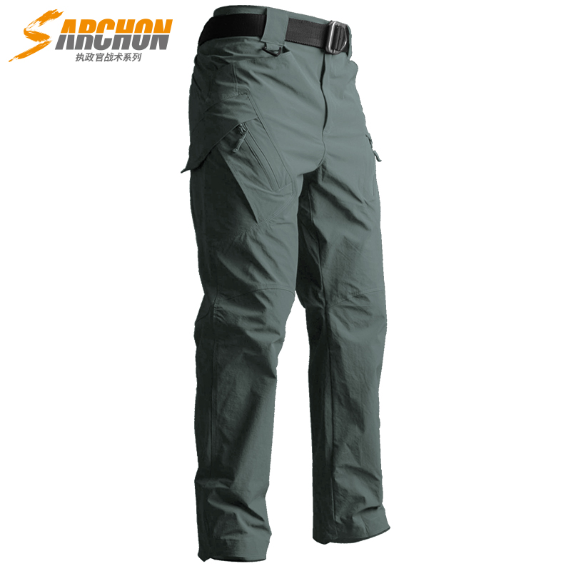 S.archon Urban Tactical IX9 Lightweight Military Cargo Pants Men  Quick Dry Breathable Stretch SWAT Militar Army Pants
