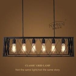 Oryginalne lampy wiszące w stylu vintage lampara żyrandol przemysłowy w stylu retro lampa industrie hanglampen restauracja sklep oświetlenie barowe oprawy w Wiszące lampki od Lampy i oświetlenie na