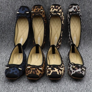 Image 5 - Leopard Flats Loafers Women Driving Shoes Slip On Moccasins Ladies Comfort Fordable Flat Shoes Ballerines Flats Chaussures Femme