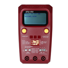 Testeur de Transistor numérique multimètre LCD tenu dans la main