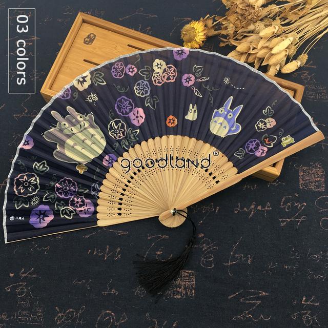 Quality Japanese Toroto Silk Fabric/Bamboo Holding Hand Fan