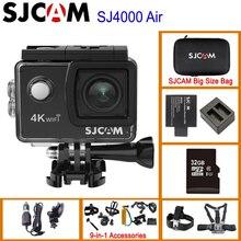 "SJCAM SJ4000 AIR 4K 30fps 액션 카메라 Allwinner 칩셋 1080P 60FPS WiFi 스포츠 DV 2.0 ""미니 헬멧 카메라 방수 스포츠 DV"