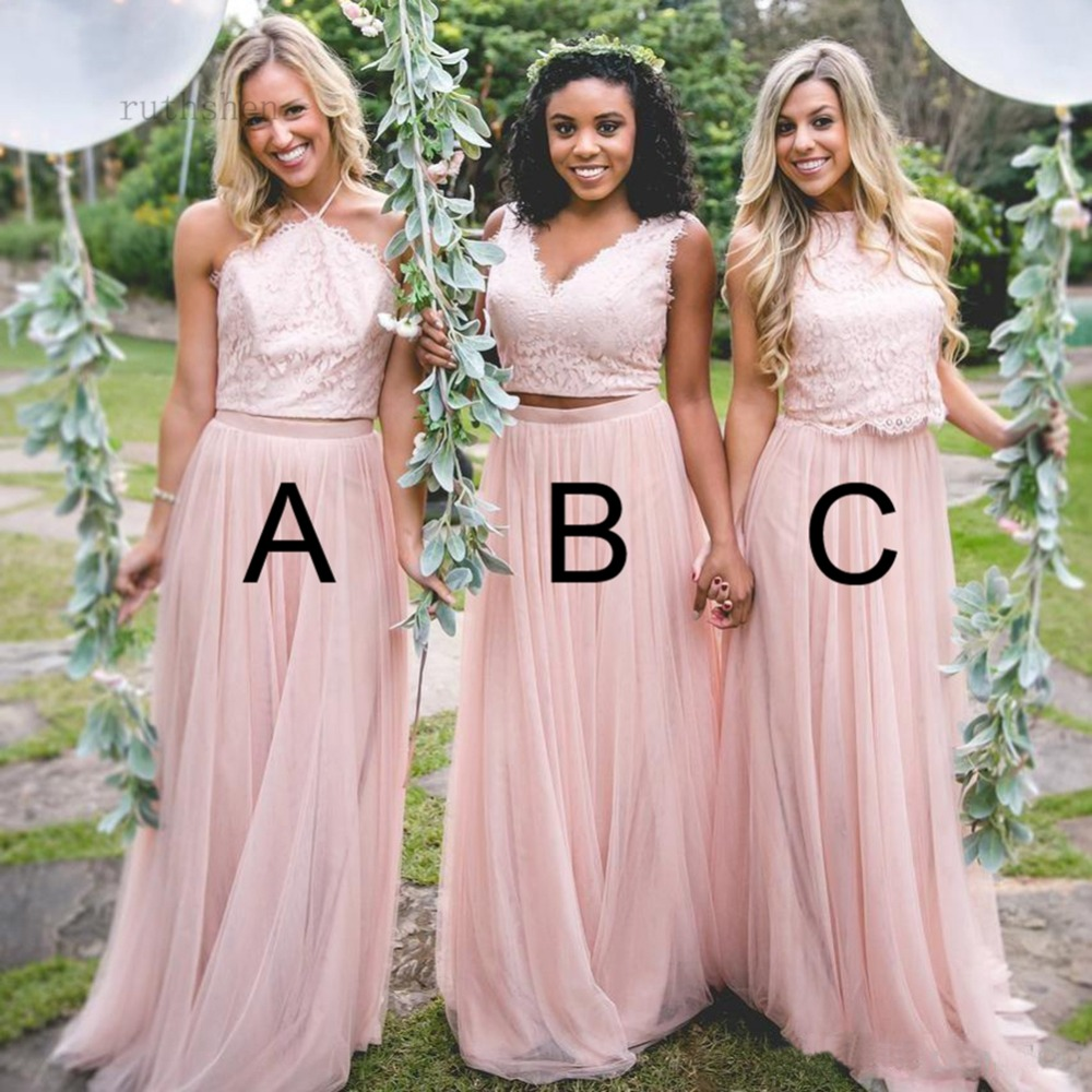 Fashion New 3 Style   Bridesmaid     Dresses   Lace Appliques Sleeveless Maid of the Honor   Dresses   Formal   Bridesmaid     Dress