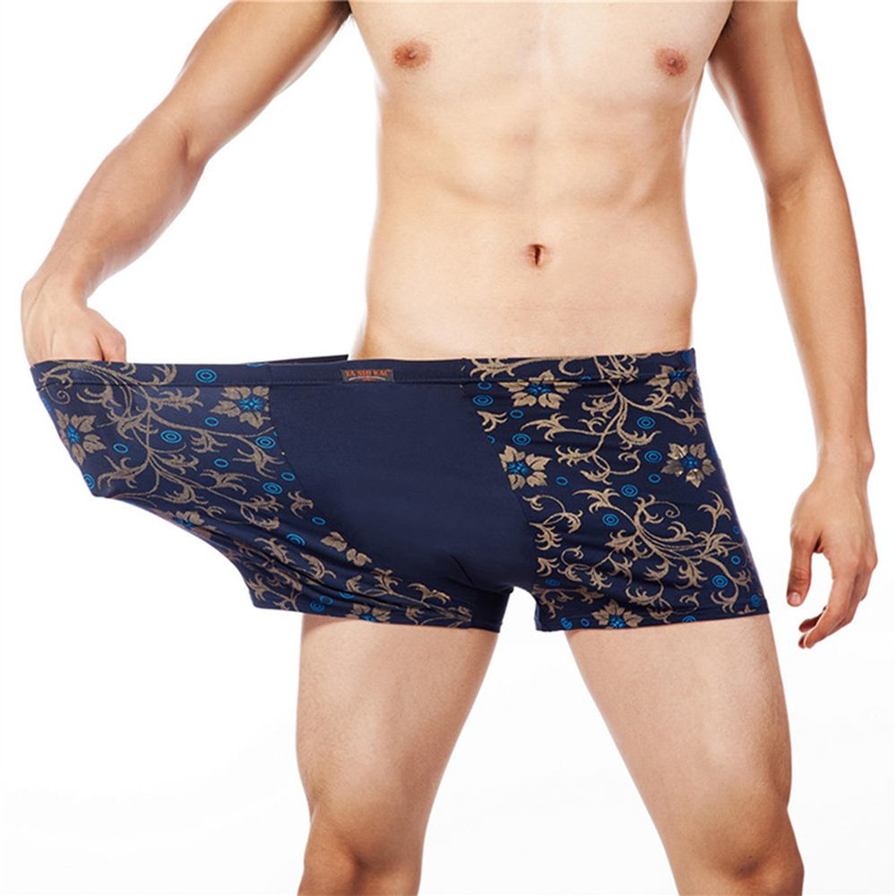 Fashion Underwear Men Boxers Underpants  Print Man'S Pants For Men Cuecas Boxer Shorts Man Masculinas Calzoncillos 5XL 6XL