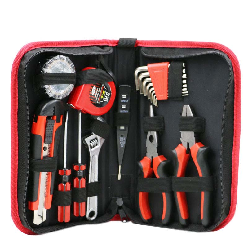 18pcs In 1 Combination Multifunction Household Shop Repair Tool Set Electrical Metalwork Hand Tools Cutter Wrenches Screwdrivers combination of hand tools 16pcs screwdrivers pilers variable tools household tool sets hand tools set