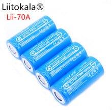цена на 2019 LiitoKala 3.2V 32700 6500mAh LiFePO4 Battery 35A Continuous Discharge Maximum 55A High power battery