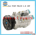 R134a Air Conditioner AC COMPRESSOR DENSO BC447170-6160 for Fiat Palio 1,6 16V