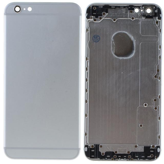 Pieza de recambio para iphone 6 plus tapa de la batería de vivienda puerta de atrás de la cubierta posterior para iphone 6 plus w0d10 T0.41